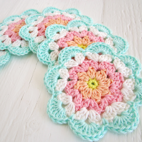 Flower Coaster Tutorial I (Etsy)