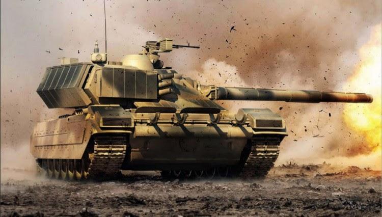 Tank Armata Rusia