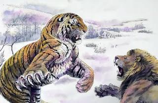 Harimau Dan Singa