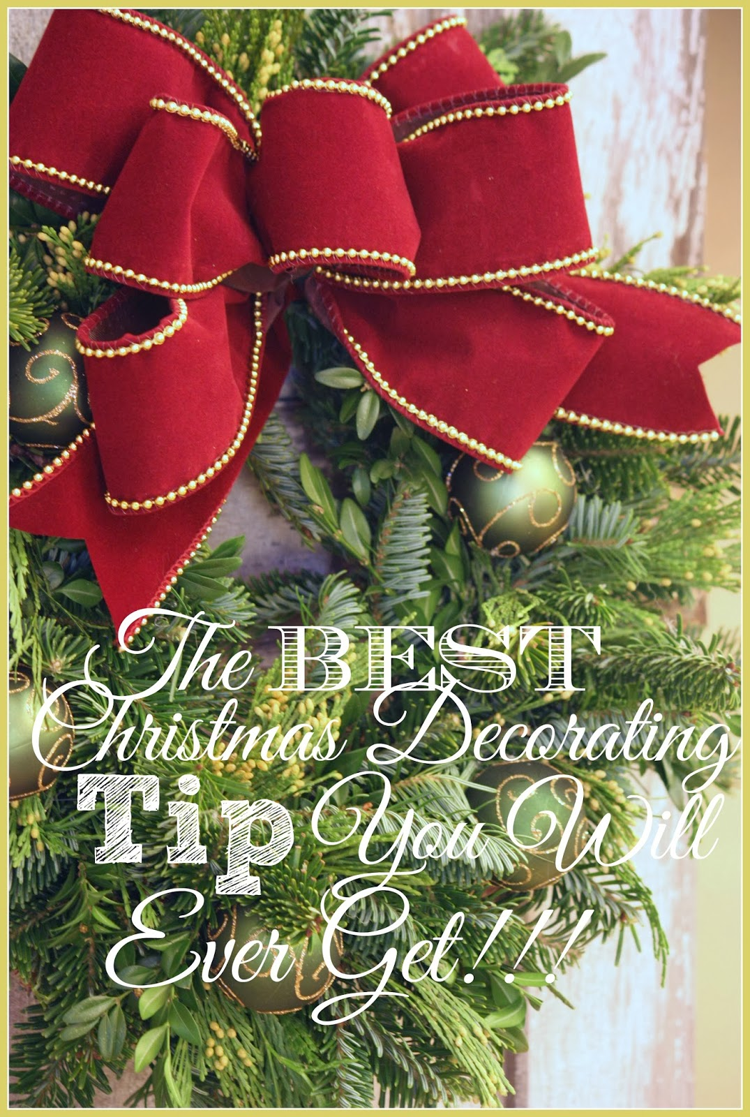 the best christmas decorating tip you will ever get - Best Christmas Decorations