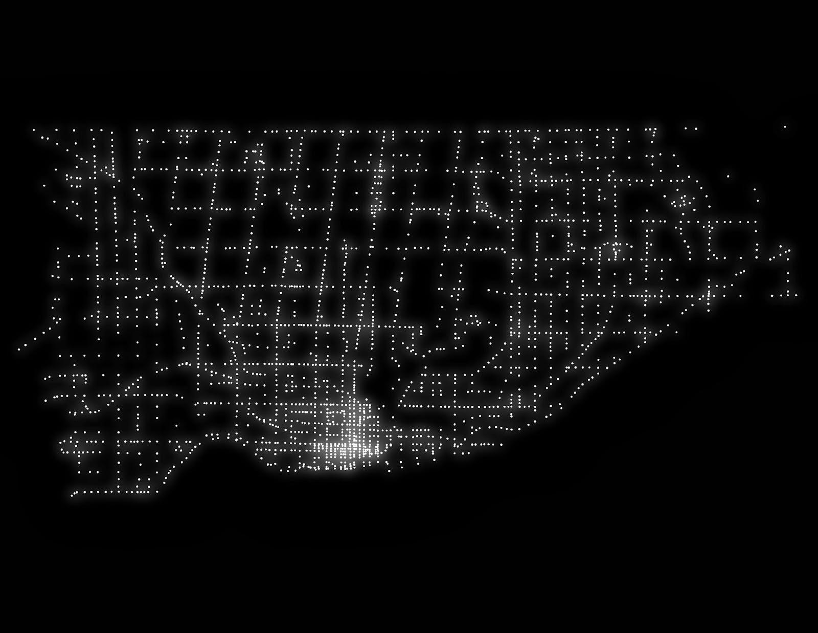 Gallery Open Data Data Reports Maps City Of Toronto - Street light map us