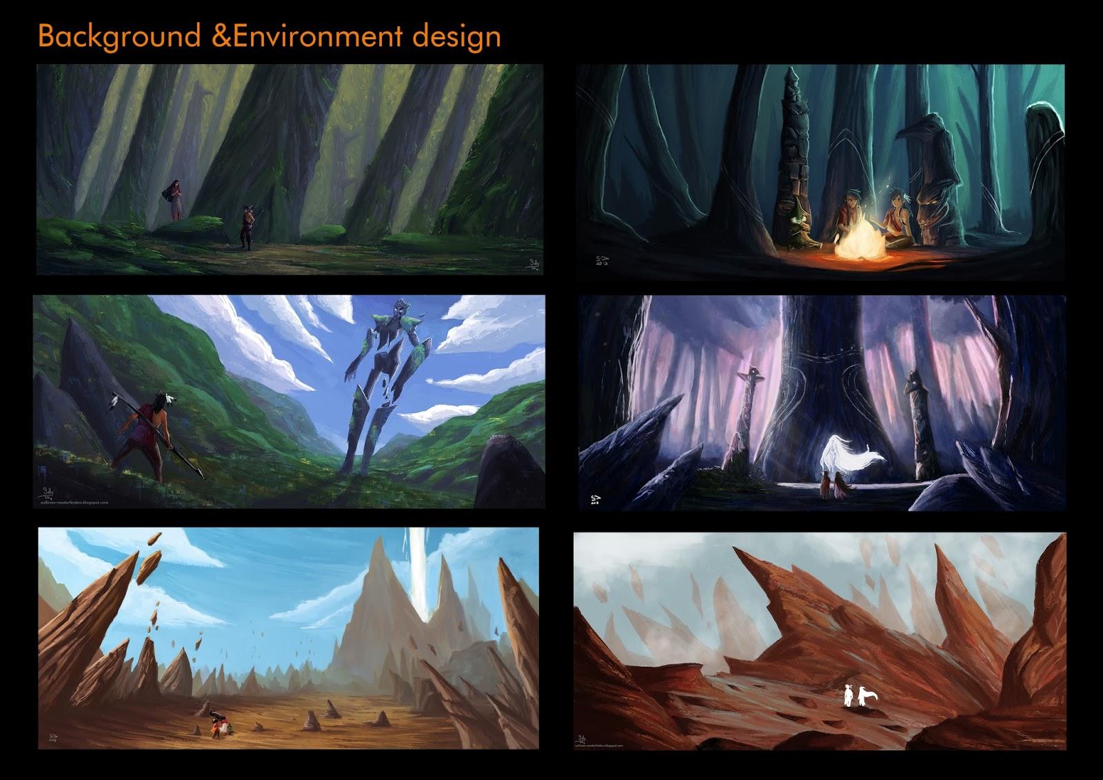 Sullivan vanderlinden portfolio painting color key