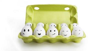 Membersihkan komedo dengan putih telur
