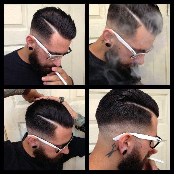 Как сделать прическу с короткими волосами мужские