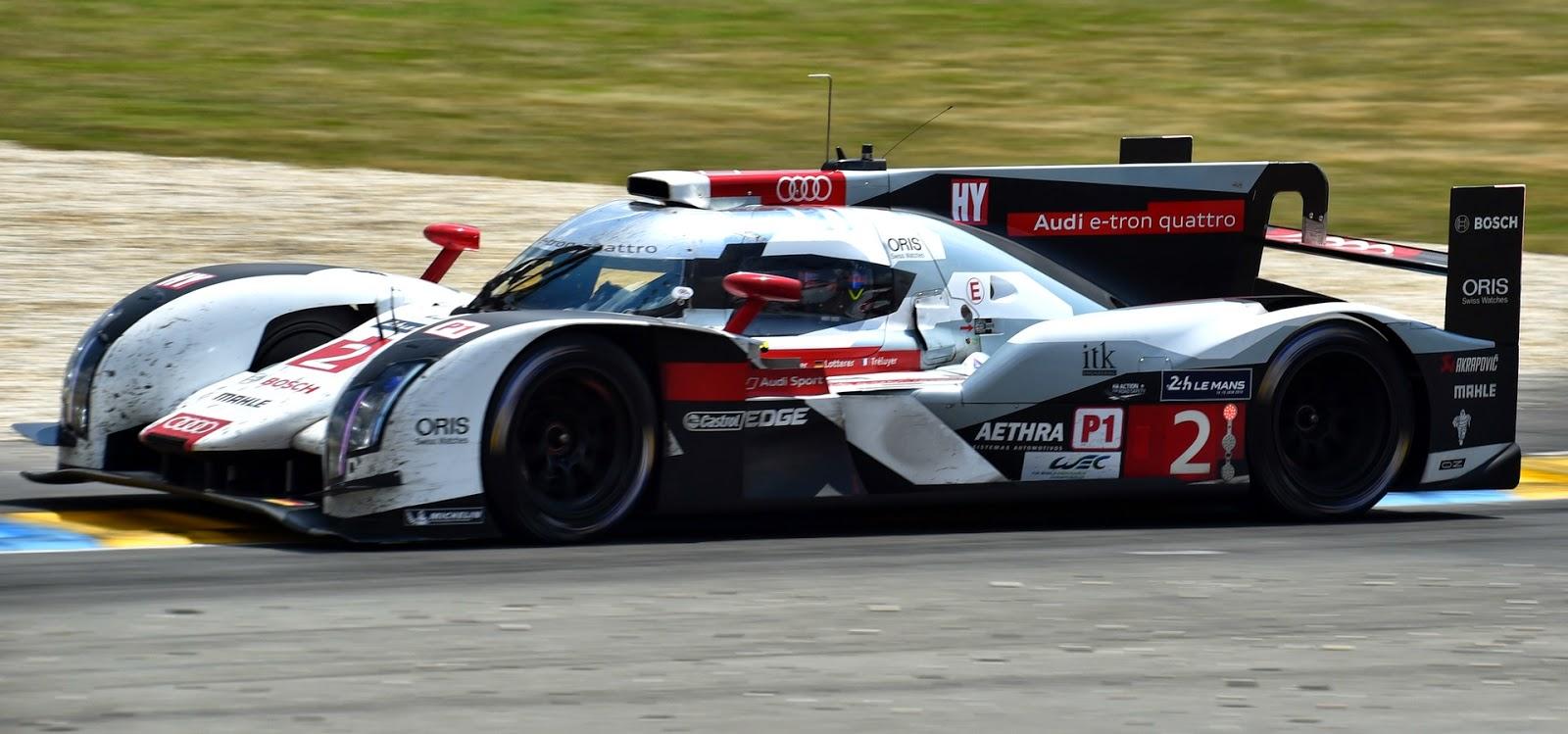 Audi R18 e-tron quattro n°2 Oris 24 heures du Mans 2014