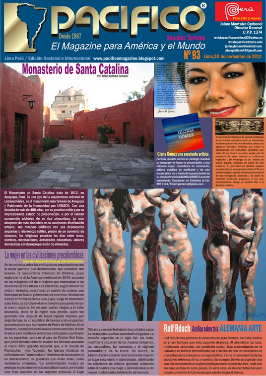 Revista Pacífico Nº 93 Turismo
