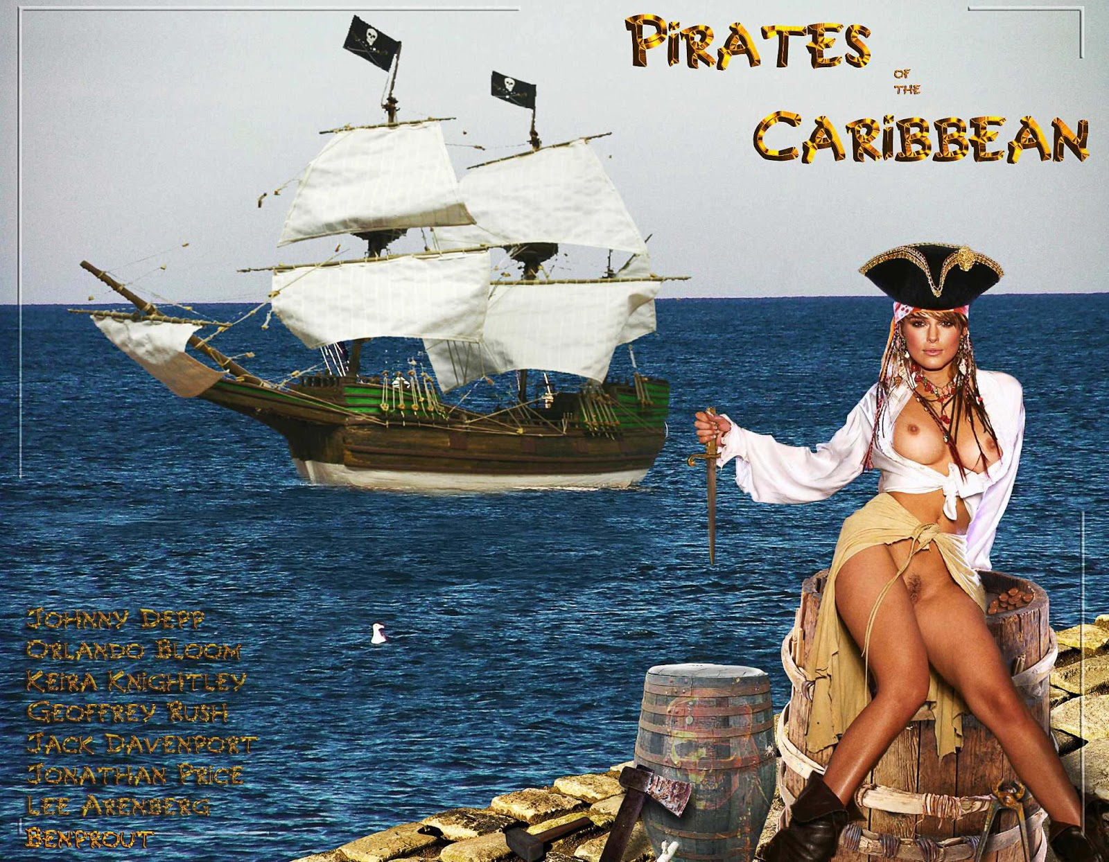 Pirates Of The Caribbean Porn Nude
