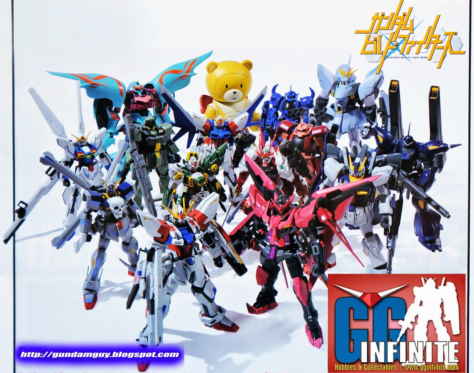 Build fighters gunpla images for Domon in gundam build fighters