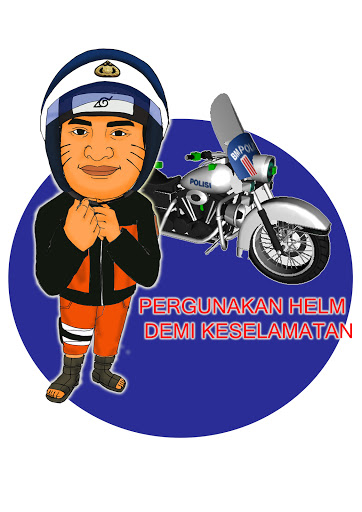 Karikatur Naruto Kepolisian Indonesia