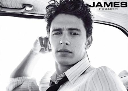 James Franco posando