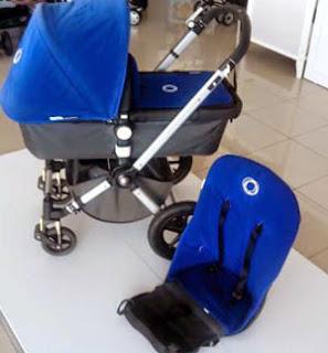 Bugaboo azul segunda mano Córdoba