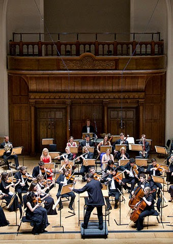 Thomas Carroll and the Orpheus Sinfonia at the Cadogan Hall