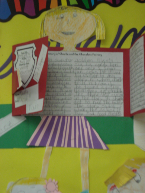 life and times of a third grade teacher charlie and the On charlie and the chocolate factory crafts