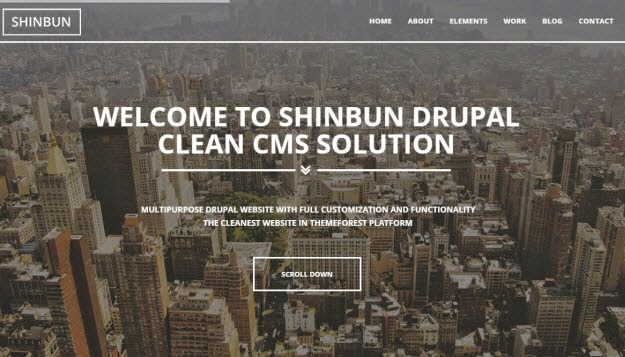 A multipurpose Drupal 7 template