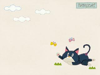 猫の壁紙 ファブリキャット