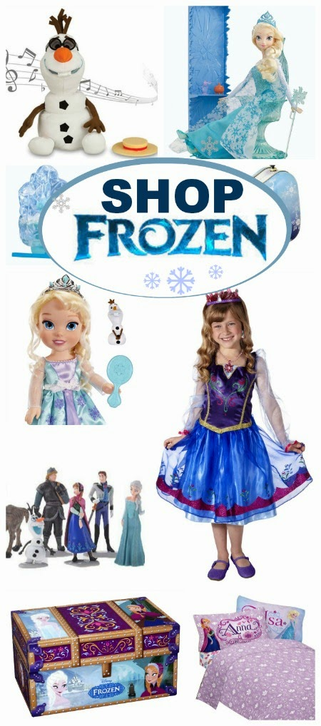 Having trouble finding Frozen merchandise in stores?  Shop online with this easy guide.  There is so much more available and you don't even have to leave the house to shop!