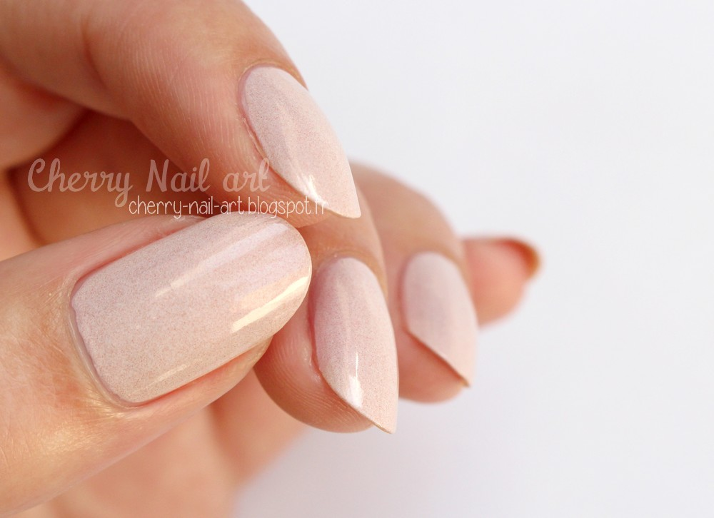 vernis lm cosmetic n°264 Diana collection nudes poudrés
