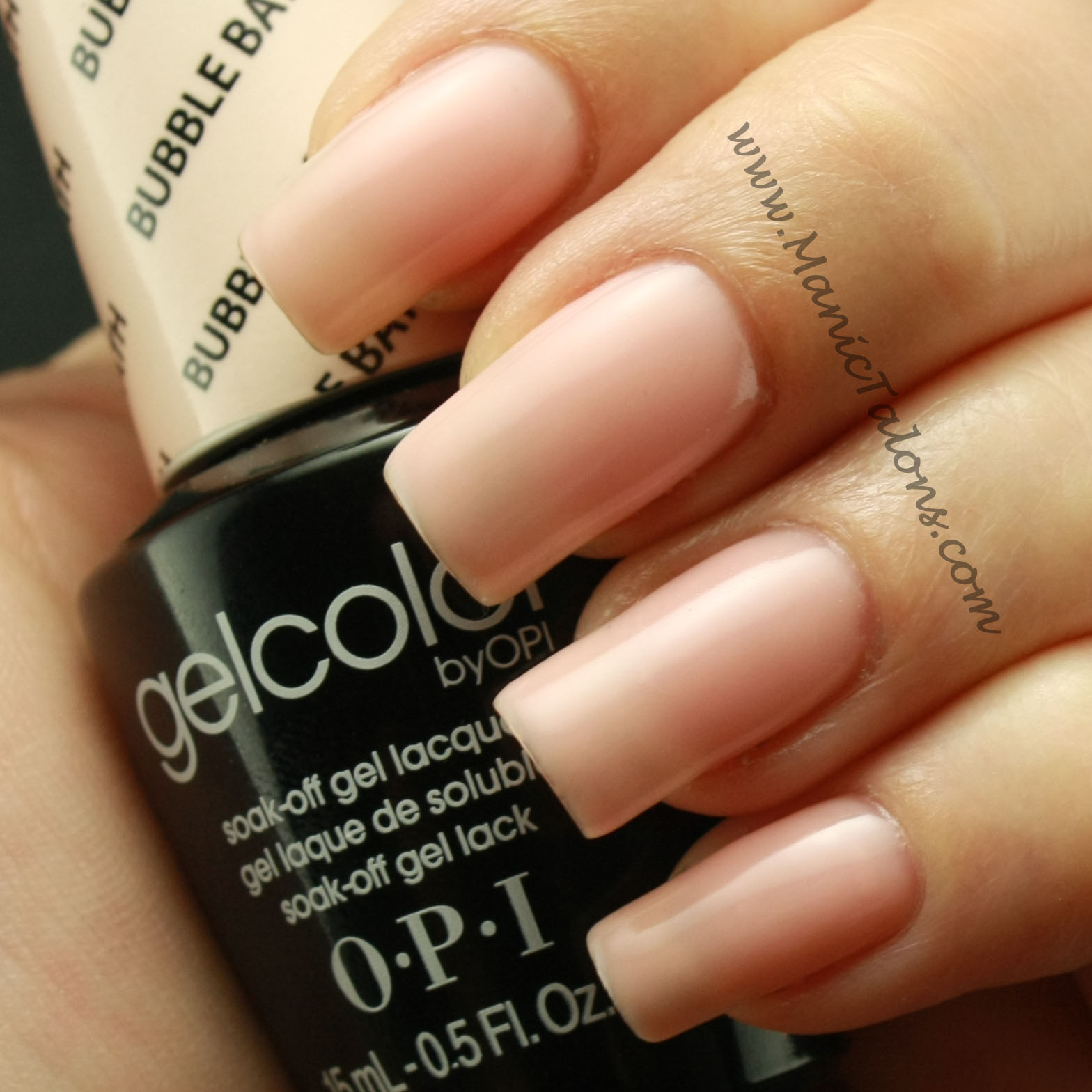Opi Gelcolor Soak Off Gel