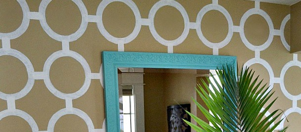 Paint a Patterned Accent Wall