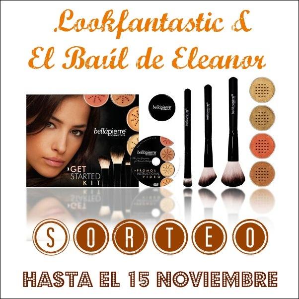 Sorteo pack Bellápierre con Lookfantastic y el baúl de Eleanor www.elbauldeeleanor.com
