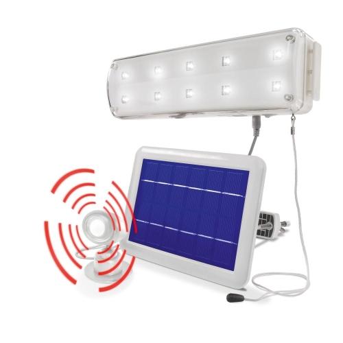 Jard n solar l mparas solares para cobertizos casetas y garajes - Lamparas led para interiores ...