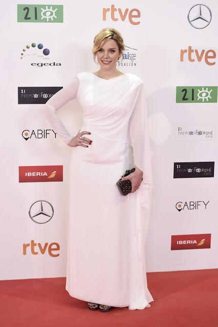 Carolina Bang en los Premios Forqué, enero 2016