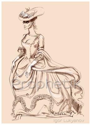 mode de femme du 19ème siècle
