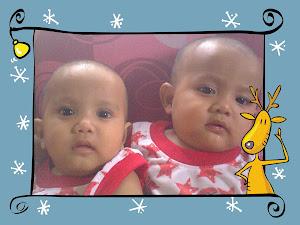 adik-adik kembar saya