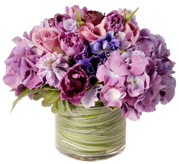 Purple Wedding Flowers Bouquets Pictures