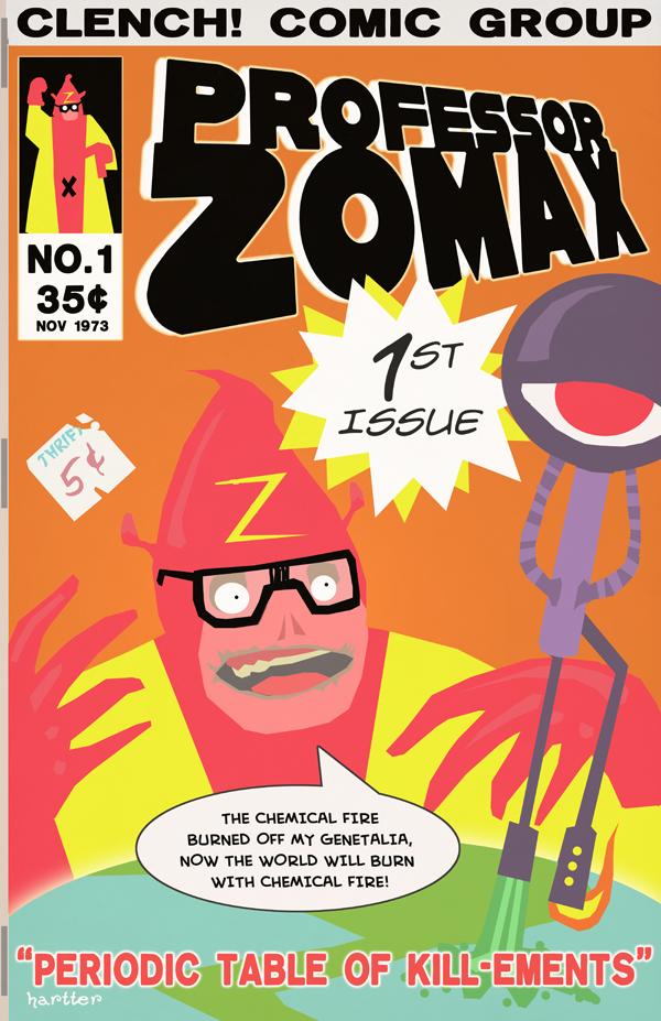 Professor Zomax Sean Hartter