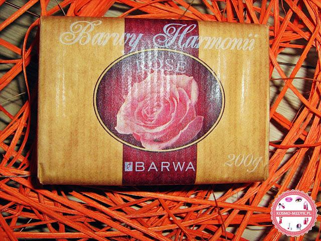 Barwa, różane mydło w kostce z serii Barwy Harmonii