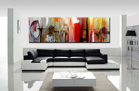 "Abstract Painting ""Memories"" by Dora Woodrum'"