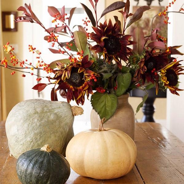 centros de mesa otoño