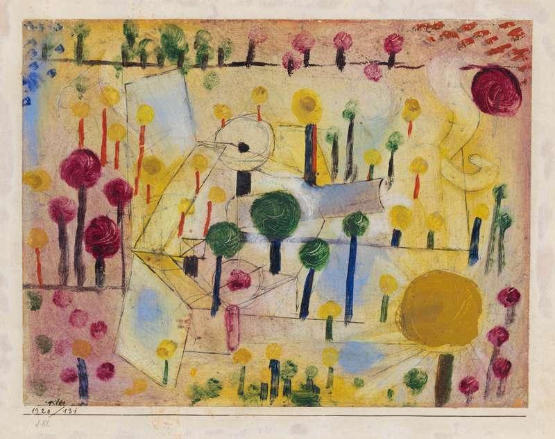 Expo Paul Klee Polyphonies Au Mus 233 E De La Musique 227
