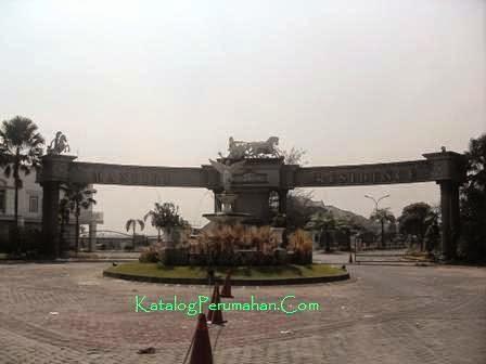 Main Gate Mandiri Residence