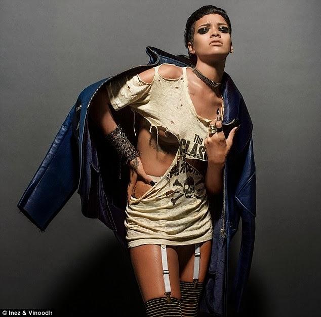 Nwamaka Onubiyi 39 S Blog Rihanna 39 S Latest Sexy And Edgy Fashion Shoot As She Covers German