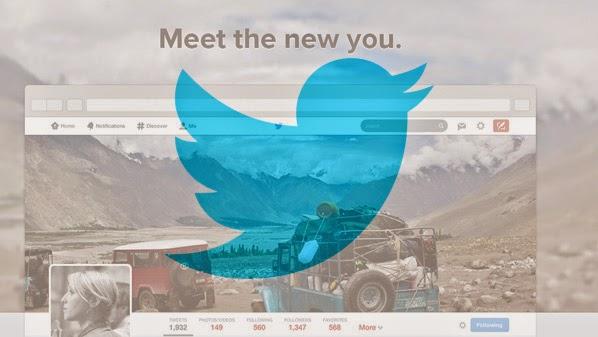 تويتر يوفر التصميم الجديد للصفحات الشخصية لجميع مستخدميه