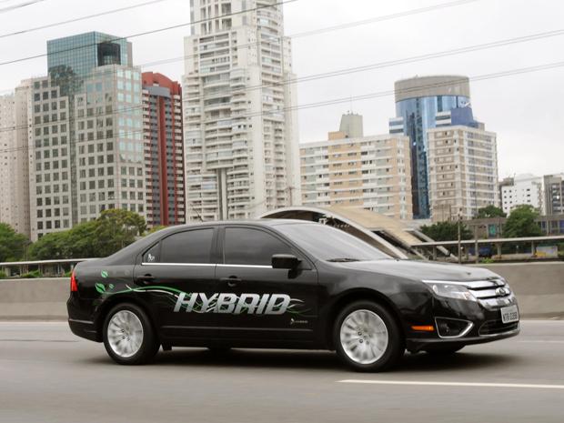 Carro Verde Do Ano Autoesporte 2013 - Ford Fusion Hybrid