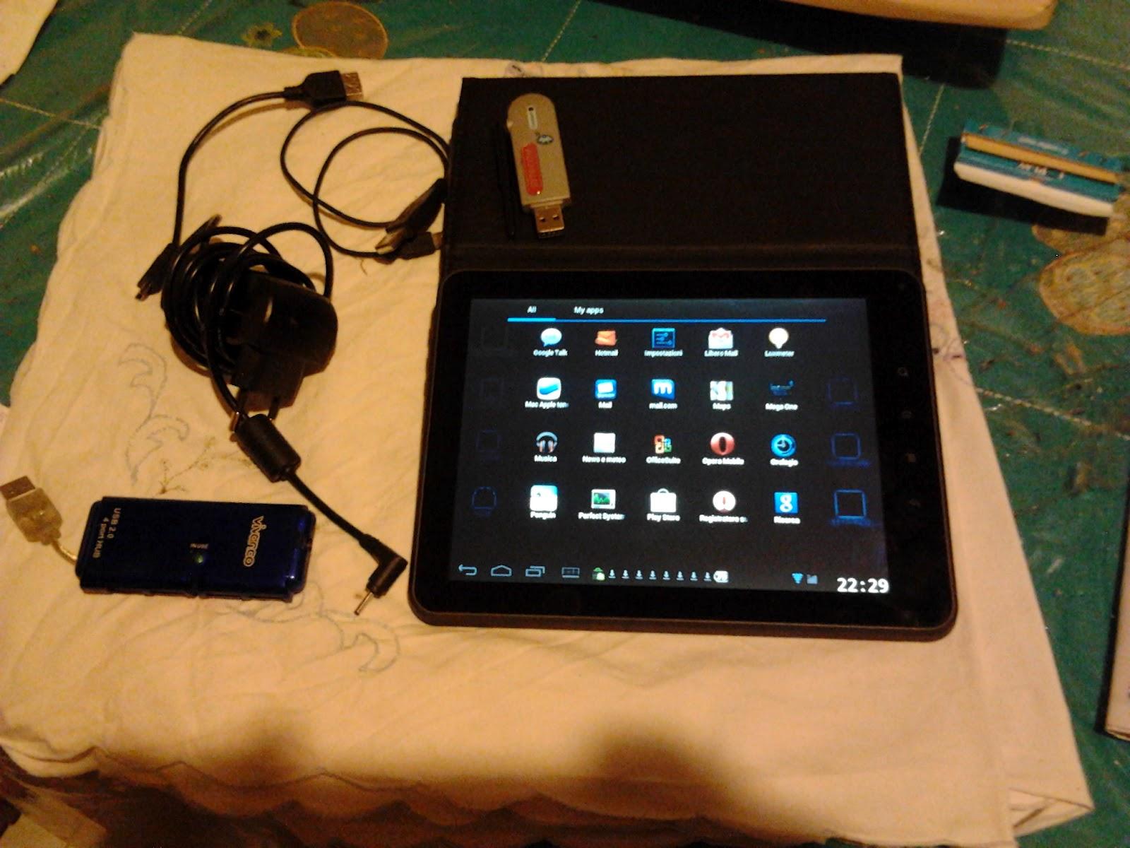 Supermodding mediacom smartpad c capacitivo quot m mp