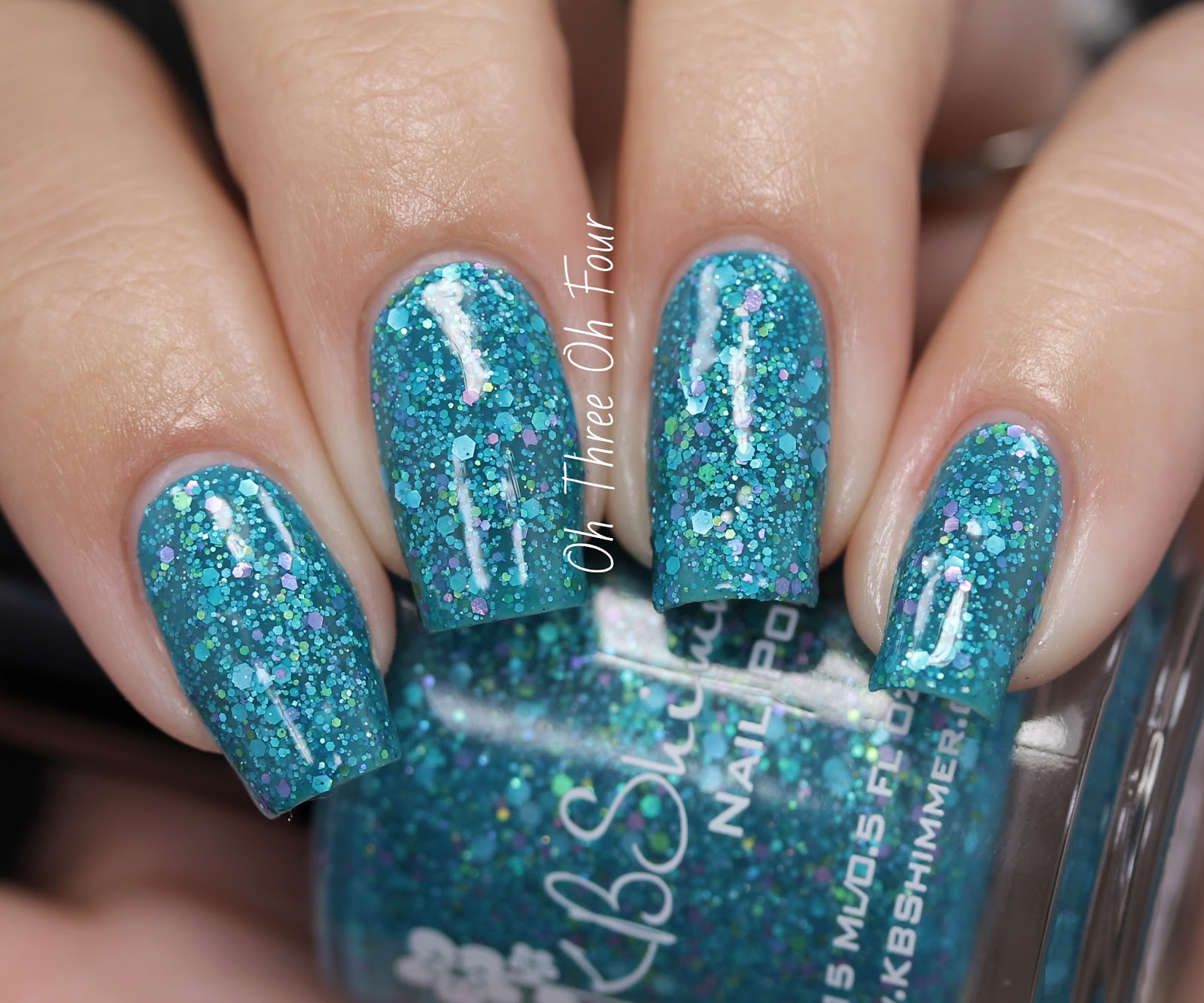 KBShimmer She Twerks Out Swatch