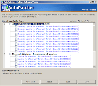 AutoPatcher Install Windows Updates Offline