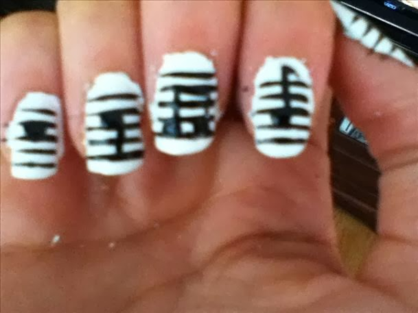 Music Notation Nail Art Designs