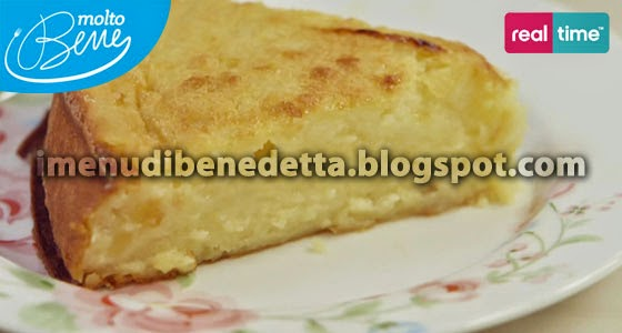 Torta di Purea di Mele al Cucchiaio di Benedetta Parodi