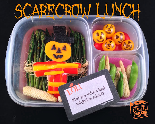 Lunchbox Dad Scarecrow Lunch