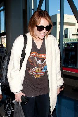 Miley Cyrus LAX