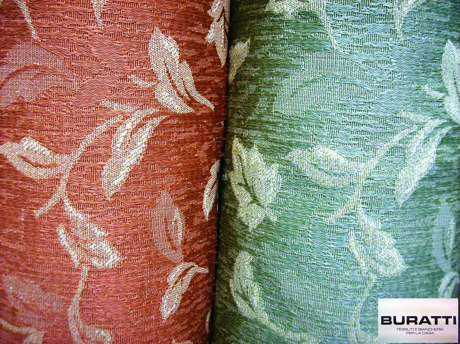 Buratti tessuti e biancheria per la casa tessuti da for Tessuti da arredamento