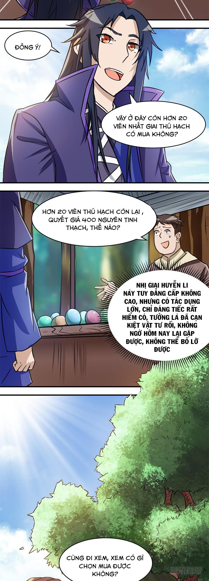 Lâm Phi Truyện - Chap 33