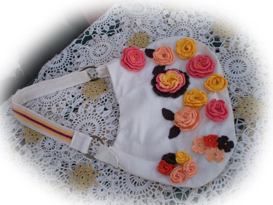 Flores Tejidas Crochet Con