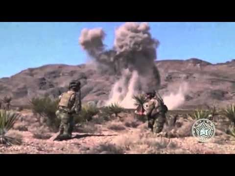 US Army & Air Force Fighter Jet Destroying Giant 'Alien Monster' in Desert