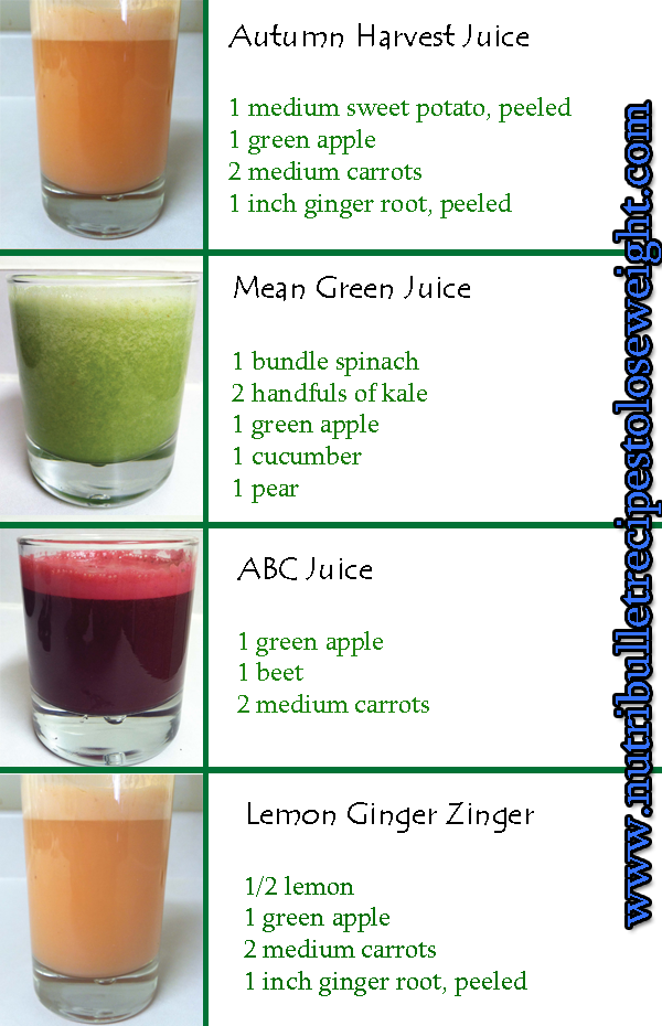 juice weight loss plan uk